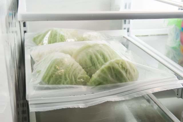 How to freeze cabbage?